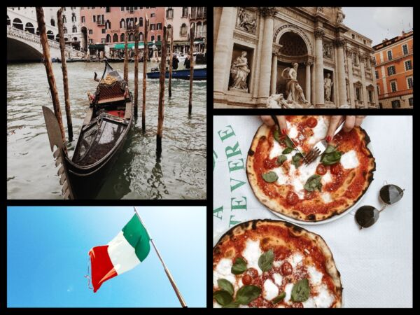 collage italie