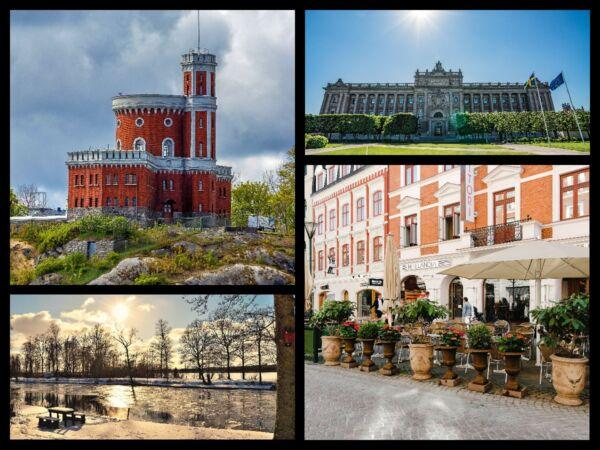 Collage Zweden