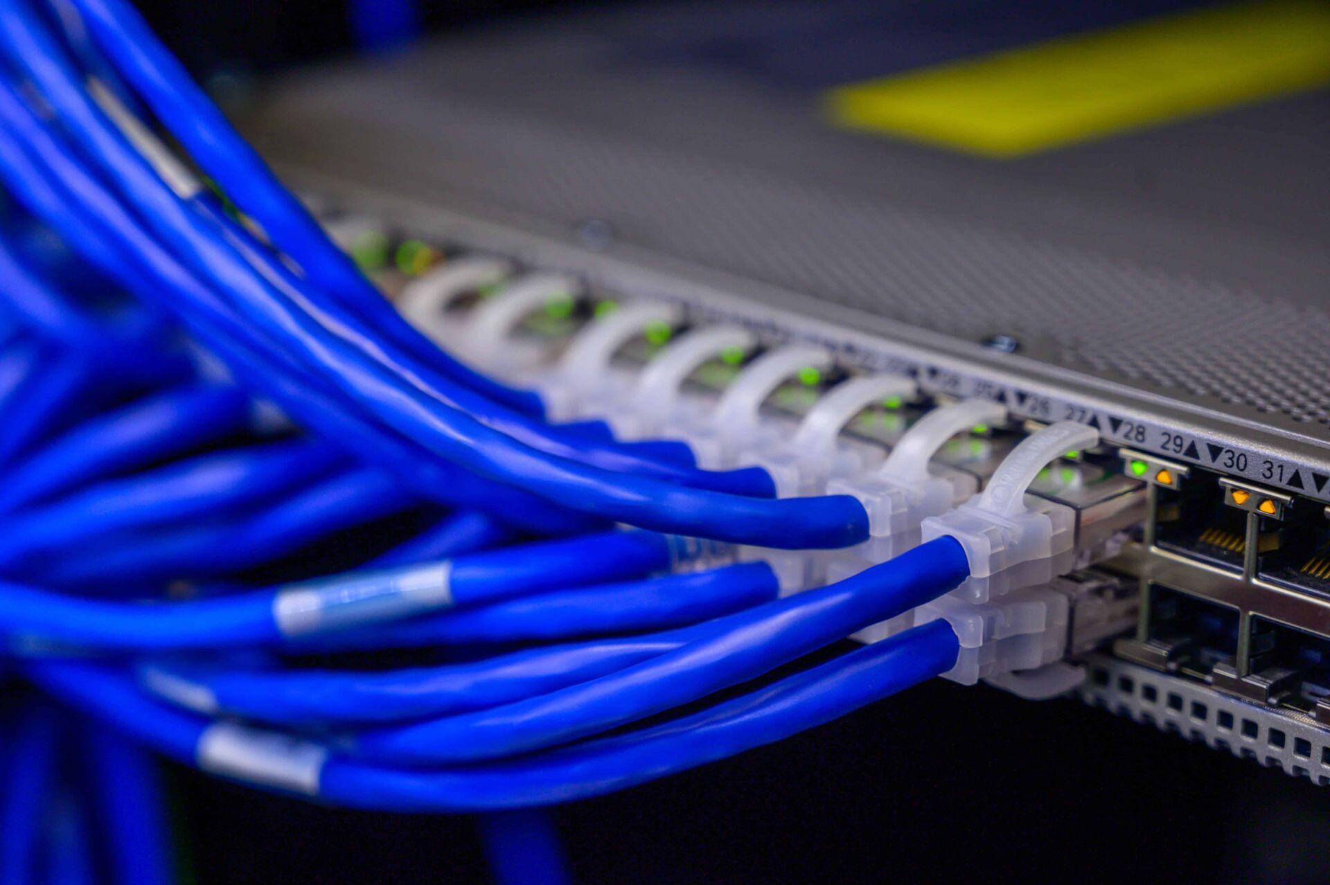 aansluiting netwerk